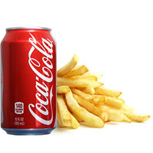 Fries and Coke